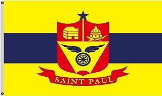 Fyon Minnesota Banner City of Saint Paul Flag 3x5ft