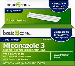 Basic Care Miconazole 3, Miconazole Nitrate Vaginal Cream