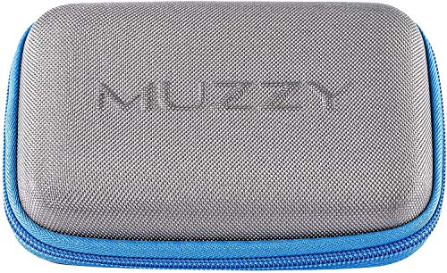 Muzzy Broadheads and Accessory Case, Grey/Blue...