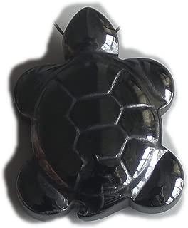 1'' Hematite Turtle for Necklace Pendant Bead