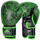 Be Smart, Gants de boxe professionnels en cuir pour MMA, sac de frappe, Muay Thai,...