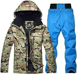 Camouflage ski Suit Set Snowboarding Suit Clothing Waterproof Breathable Winter Suit Jacket + Trousers