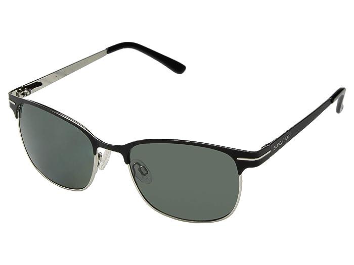 SunCloud Polarized Optics Causeway (Black Frame/Gray Polarized Polycarbonate Lenses) Fashion Sunglasses
