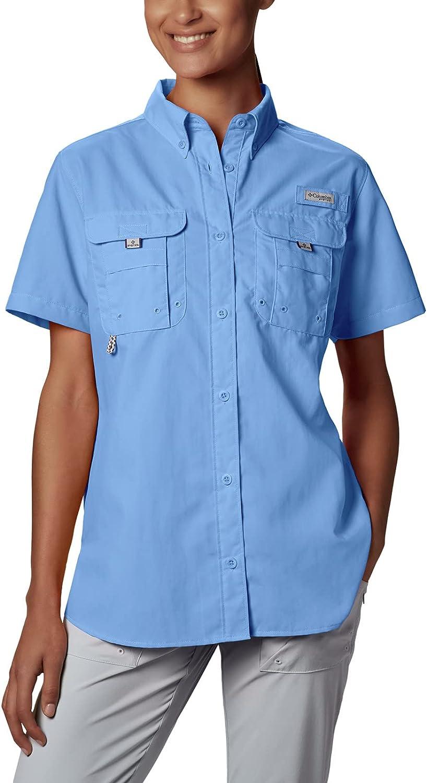 Columbia Women's PFG Bahama II UPF 30 Short Sleeve Fishing Shirt