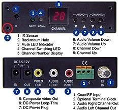 Analog NTSC UHF VHF CATV Tuner RF Demodulator with RCA A/V Output
