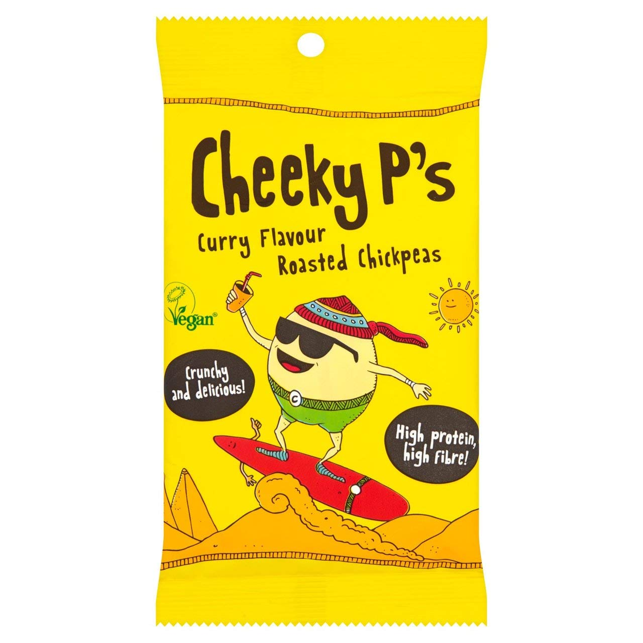 Cheeky P's Sale Special Price Curry Chickpeas Free shipping anywhere in the nation 1 50g x