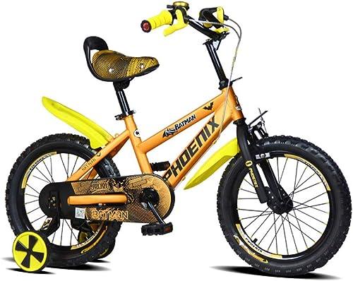 Vélos enfants et Accessoires Vélo pour Enfants Vélos Orange Girls Vélo Garçons Vélo pour Enfants 2-3-5-6-8 Ans Vélo De Sport en Plein Air Cadeau pour Les Enfants