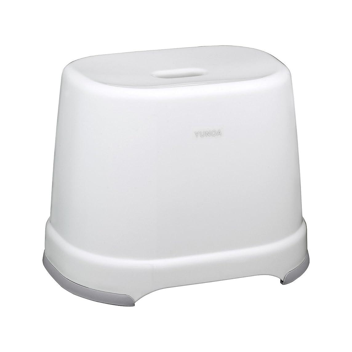 厳動脈将来のレック YUNOA (ユノア) 風呂いす 高さ28cm (ニューホワイト) 防カビ ? 抗菌 BB-108