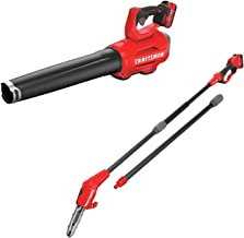 CRAFTSMAN CMCBL720D2 V20 Handheld Blower with CMCCSP20M1 20V MAX Pole Chainsaw