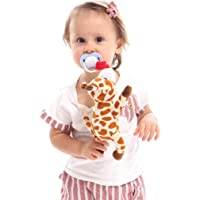 Fanxis Baby Pacifier Holder Suspension Animal Plush Doll Toy