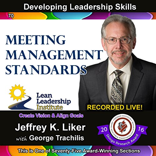 Developing Leadership Skills 70: Meeting Management Standards Titelbild