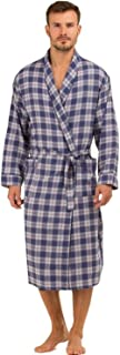Haigman Mens Brushed 100% Cotton 7395 Dressing Gown Wrap