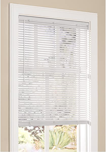 Lumino Vinyl Mini Blinds 1 Cordless Room Darkening In White 24 W X 72 H Over 250 Add L Custom Sizes Starting At 9 97