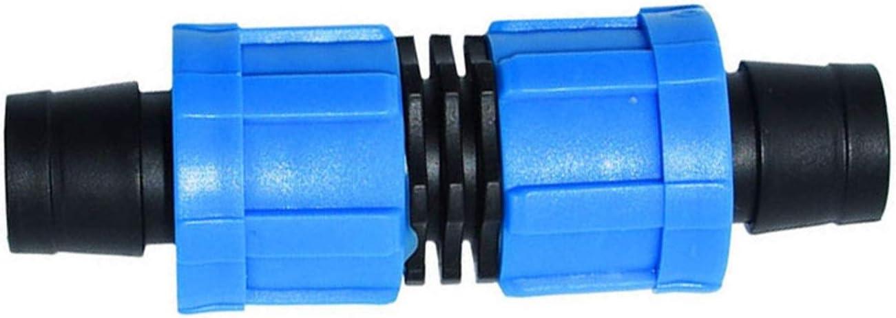 Plant Sprinkler Hose Kit 16mm Drip Nut Super-cheap Connector 2-Way Tape Lock Ultra-Cheap Deals