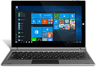 YUNTAB 11.6 inch GA116C 2-in-1 Windows 10 Home Laptop Tablet PC 2GB / 32GB, 1920 x1080 IPS Display, Dual Camera, WiFi, Intel Z8350(Quad-Core) Notebook Computer with Keyboard (Dark Grey)