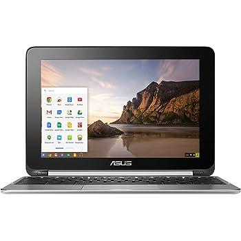 ASUS Chromebook Flip Touchscreen Laptop, Chrome OS, Quad Core, 1.8 GHz, 16 GB, Aluminum Chassis (Renewed)