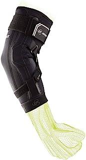 DonJoy Performance Bionic Elbow Brace II - Small - حداکثر پشتیبانی از لولا برای هایپراستنشن آرنج ، UCL ، آسیب رباط های تامی جان ، آرنج جابجا شده برای فوتبال ، لاکروس ، راگبی ، بسکتبال