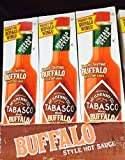Tabasco Buffalo Style Hot Sauce, 5oz. (Pack of 6)