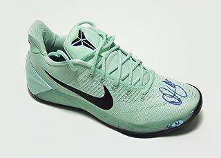 a18f2f793d17 Demar DeRozan Autographed Nike Kobe Zoom Green Black Basketball Shoe LE 10  - Autographed NBA