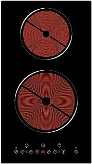 respekta KM 9130T Domino Plaque de cuisson vitrocéramique avec commande tactile
