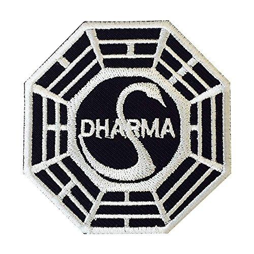 REAL EMPIRE Parche bordado de la iniciativa Dharma Lost Swan