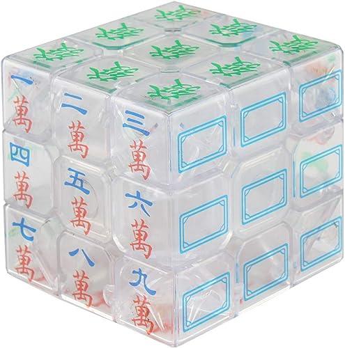 high quality Larcele new arrival Luminous new arrival Blue Magic Mahjong Cube 3X3X3 MF-06 outlet online sale