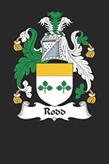 Rodd: Rodd Coat of Arms and Family Crest Notebook Journal (6 x 9 - 100 pages)
