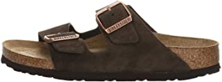 Birkenstock Men's Arizona SFB Open Toe Sandals, Brown (Marron Mocca Marron Mocca), 9.5 UK (44 EU)