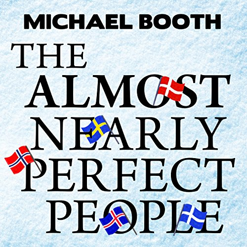 The Almost Nearly Perfect People audiobook cover art