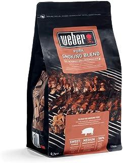 Weber 17664 rookchips voor varkensvlees, 700 g, roken, aroma, grillen