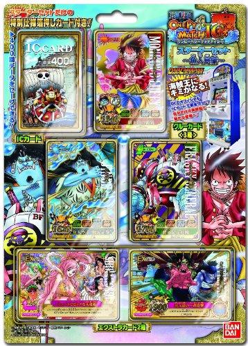 BANDAI Data Carddass [ONE Piece] Onepy Berry Match IC Starter Set -Fishman Island Arc-