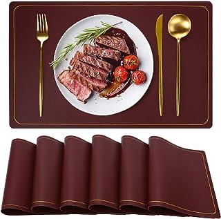 WEHVKEI Table Mats Red