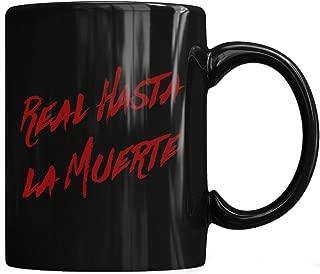Real Hasta La Muerte Camisa Anuel Aa Trap - Real Hasta La Muerte Camisa - Mug Coffee Mug 11oz & 15oz Gift Tea Cups