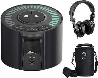 iZotope Spire Studio Wireless Recorder with iZotope Spire Travel Bag & Polsen HPC-A30 Headphone Bundle