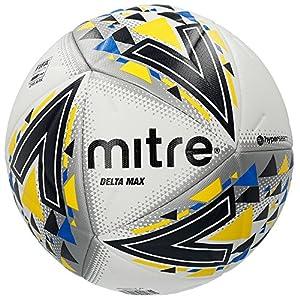 Mitre Delta Hyperseam Match fútbol Profesional - Blanco/Negro ...