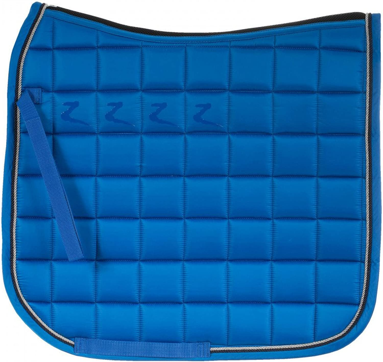 Horze Watson Quick Dry Lining Dressage Saddle Pad (Full, blueee)