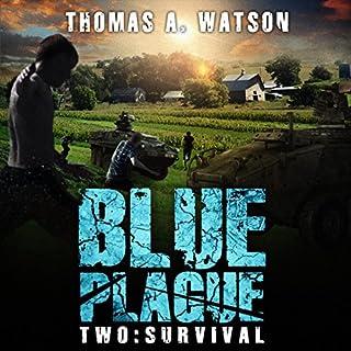 Blue Plague Two: Survival audiobook cover art