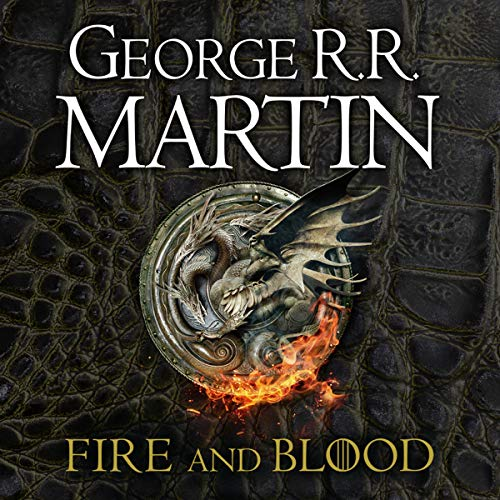 Fire and Blood audiobook cover art