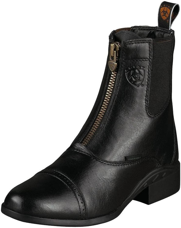 Ariat donna Heritage Breeze Zip Paddock 9 B Medium(Width) nero