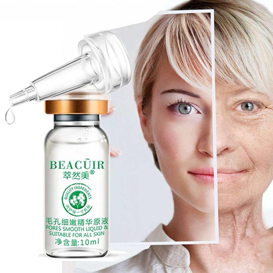 抵当名詞普及Akane BEACUIR 天然 水分 肌の明るさ 修復 美白 繊細 しわ取り 毛穴縮小 保湿 黒ずみ 角質除去 肌荒れ防止 くすんだ肌を改善し エッセンス 10ml
