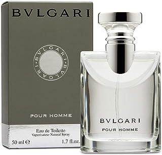 Bvlgari Pour Homme Eau de Toilette Spray for Men, 50ml