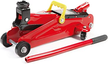 BIG RED T82002-BR Torin Hydraulic Trolley Service/Floor Jack, 2 Ton (4,000 lb) Capacity, Red