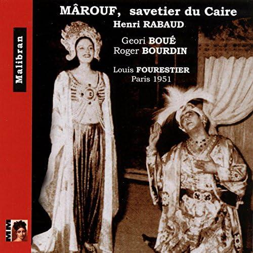 Geori Boué, Louis Fourestier & Louis Fourestier Orchestra