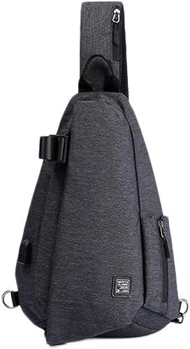 Brusttasche Herren Brusttasche Tidebag Pers ichkeit Jugend Rucksack Schultertasche Herren Messenger Bag Freizeit Student Reisetasche