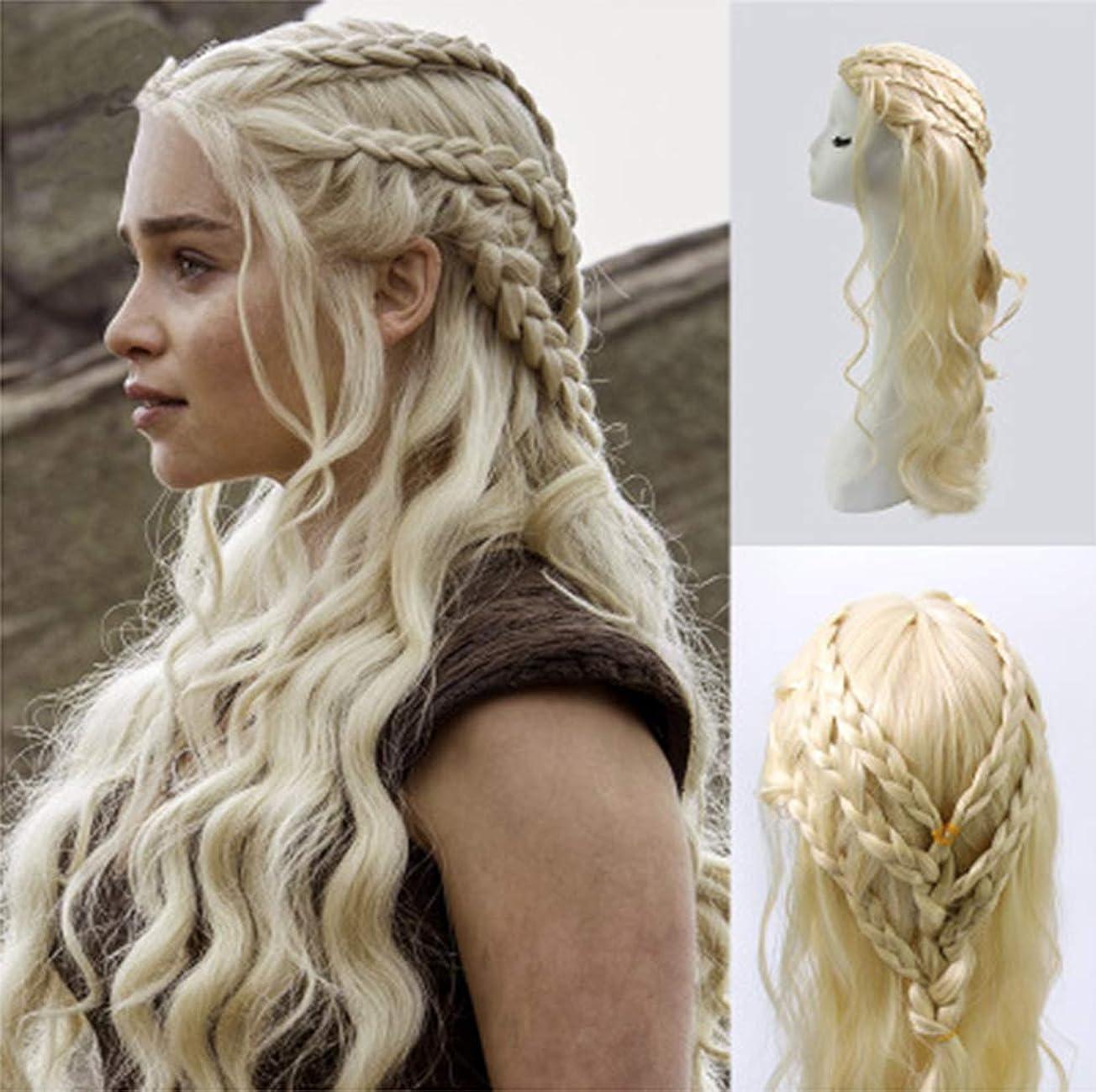 不愉快教育学どのくらいの頻度で女性かつら長い巻き毛の波状の人工毛ウィッグゲームの王女コスプレ衣装かつらパーティーハロウィーン