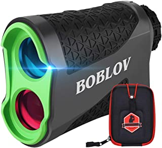 $85 » Sponsored Ad - BOBLOV 650Yards Slope Golf Rangefinder Laser Golf Distance Scope with Vibration Fast Lock 6X Magnification ...