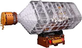 F-dujin Big movie series bottle the boat assembled insert blocks  educational children s toys