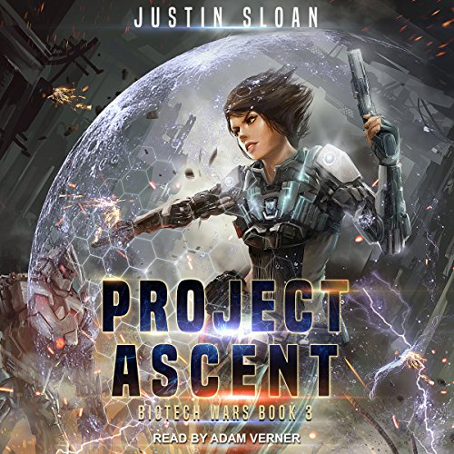 Project Ascent audiobook cover art