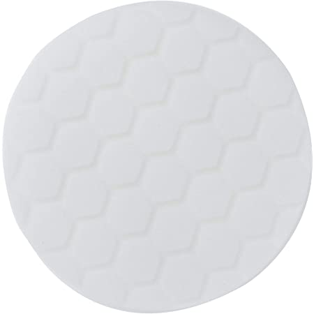 "Chemical Guys BUFX_104_HEX5 Hex-Logic Light-Medium Polishing Pad, White, 5.5"" Pad Made for 5"" Backing Plates"