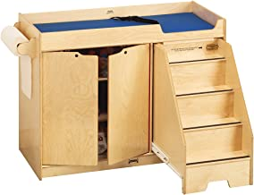 daycare changing table with steps